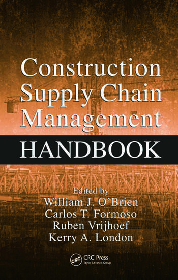 Construction Supply Chain Management Handbook book cover