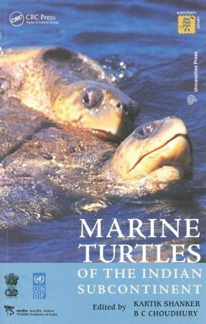 Marine Turtles of the Indian Subcontinent book cover