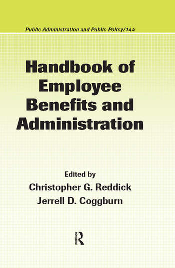 Handbook of Employee Benefits and Administration book cover