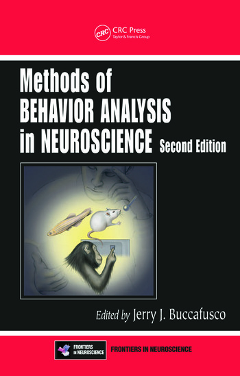 Methods of Behavior Analysis in Neuroscience, Second Edition book cover