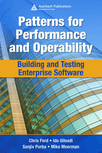 Patterns for Performance and Operability Building and Testing Enterprise Software book cover