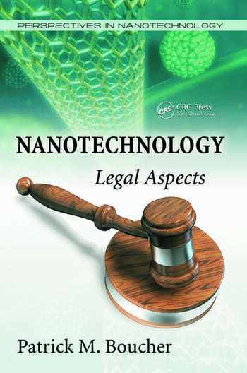 Nanotechnology Legal Aspects book cover