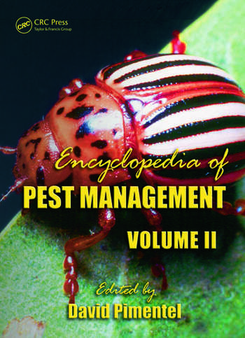 Encyclopedia of Pest Management, Volume II book cover