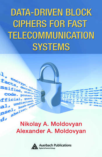 Data-driven Block Ciphers for Fast Telecommunication Systems book cover