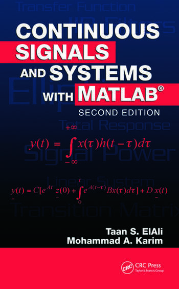 Continuous Signals and Systems with MATLAB book cover