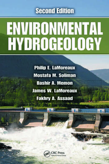 Environmental Hydrogeology, Second Edition book cover