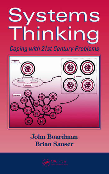 Systems Thinking Coping with 21st Century Problems book cover