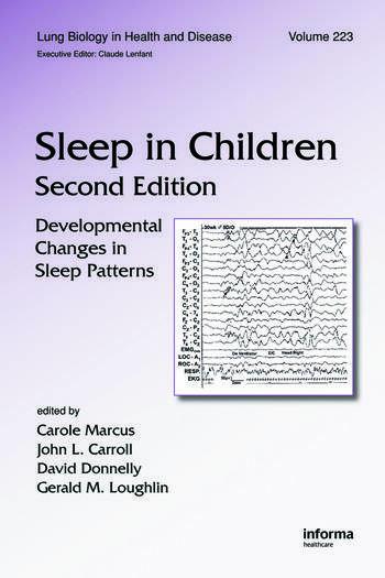 Sleep in Children Developmental Changes in Sleep Patterns, Second Edition book cover