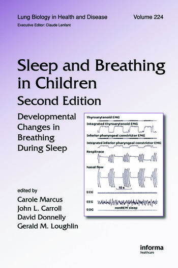 Sleep and Breathing in Children Developmental Changes in Breathing During Sleep, Second Edition book cover