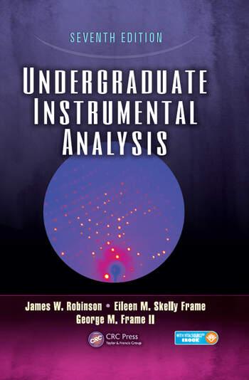 Undergraduate Instrumental Analysis book cover