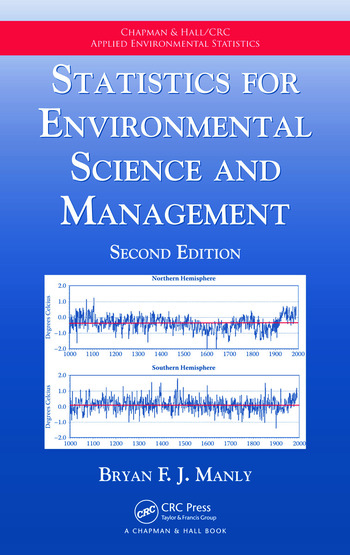 Statistics for Environmental Science and Management book cover