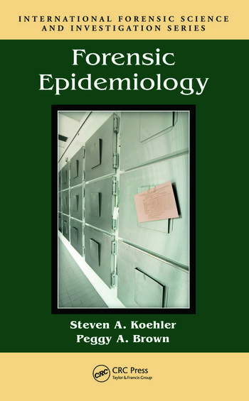 Forensic Epidemiology book cover