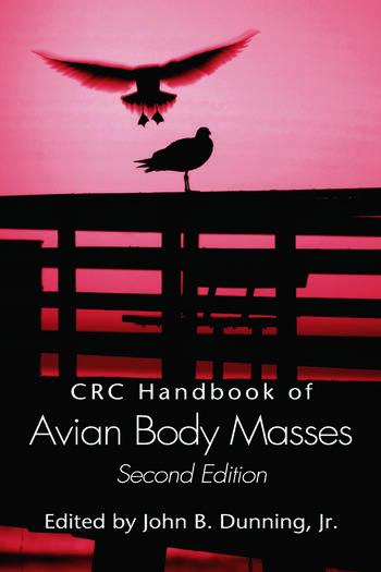 CRC Handbook of Avian Body Masses book cover
