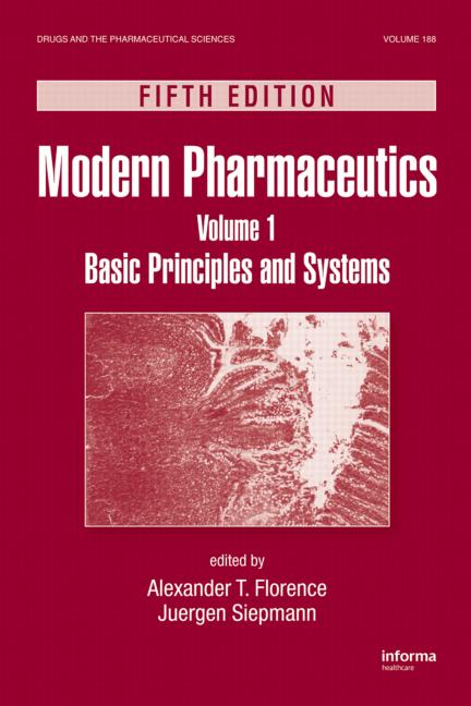 Modern Pharmaceutics Volume 1 Basic Principles and Systems, Fifth Edition book cover