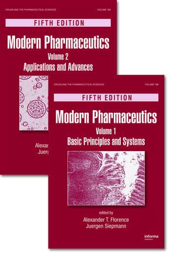 Modern Pharmaceutics, Two Volume Set book cover