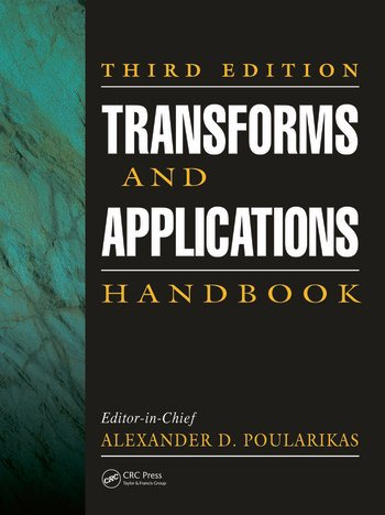 Transforms and Applications Handbook book cover