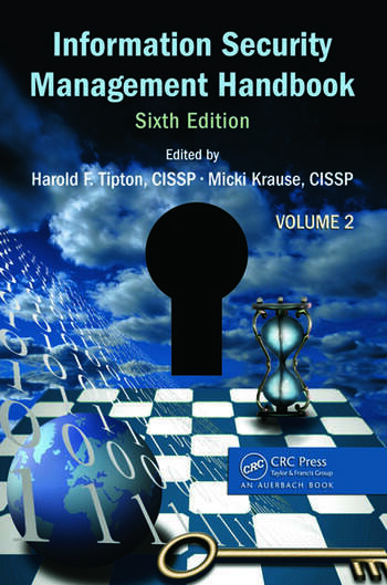 Information Security Management Handbook, Volume 2 book cover