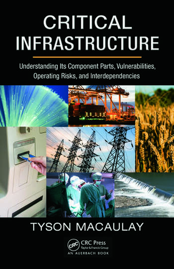 Critical Infrastructure Understanding Its Component Parts, Vulnerabilities, Operating Risks, and Interdependencies book cover