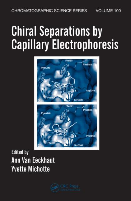 Chiral Separations by Capillary Electrophoresis book cover