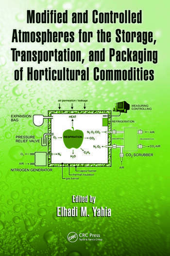 Modified and Controlled Atmospheres for the Storage, Transportation, and Packaging of Horticultural Commodities book cover