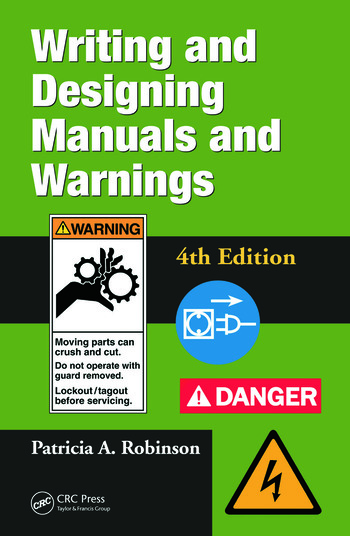 Writing and Designing Manuals and Warnings 4e book cover