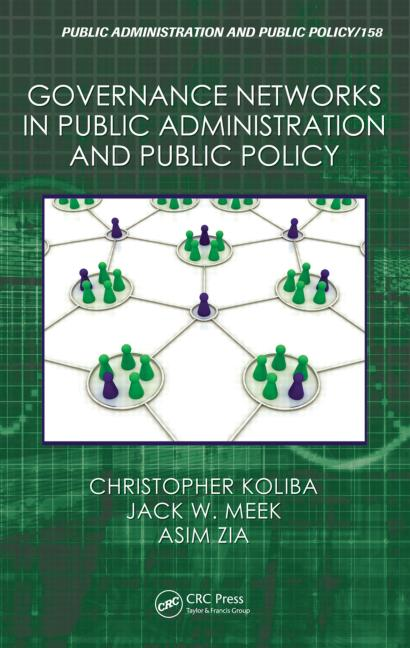 Governance Networks in Public Administration and Public Policy book cover