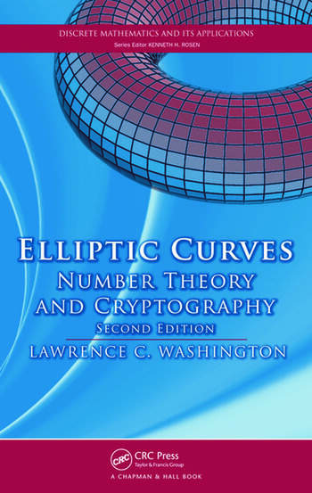 Elliptic Curves Number Theory and Cryptography, Second Edition book cover