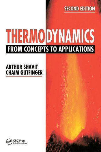 Thermodynamics From Concepts to Applications, Second Edition book cover