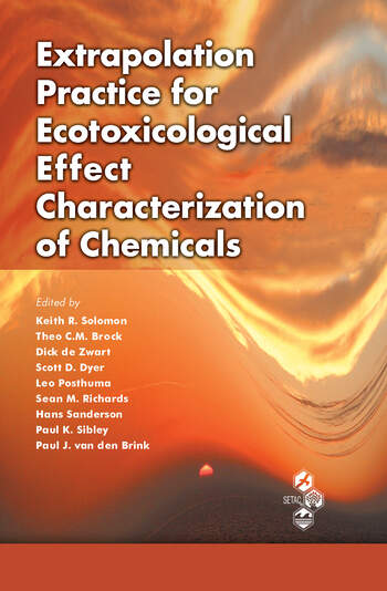 Extrapolation Practice for Ecotoxicological Effect Characterization of Chemicals book cover