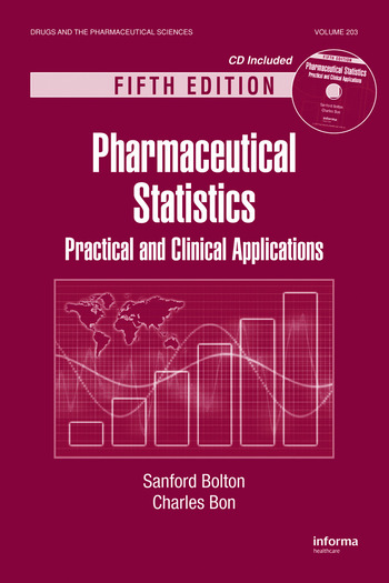 Pharmaceutical Statistics Practical and Clinical Applications, Fifth Edition book cover