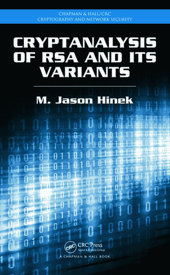 Cryptanalysis of RSA and Its Variants book cover