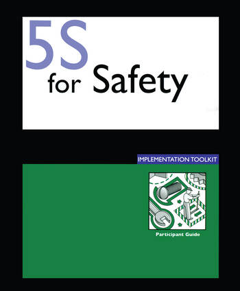 5S for Safety Implementation Participants Guide book cover