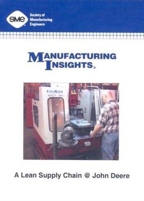 A Lean Supply Chain at John Deere DVD book cover