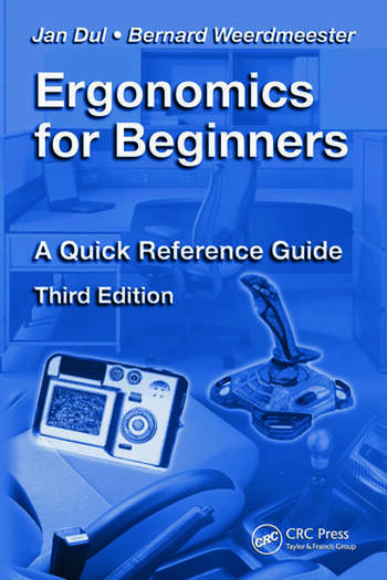 Ergonomics for Beginners A Quick Reference Guide, Third Edition book cover