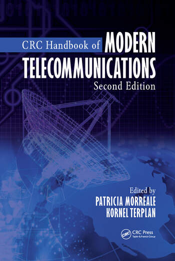 CRC Handbook of Modern Telecommunications, Second Edition book cover