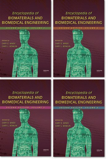 Encyclopedia of Biomaterials and Biomedical Engineering book cover