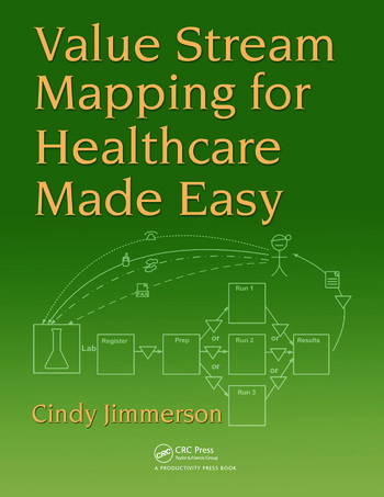 Value Stream Mapping for Healthcare Made Easy book cover