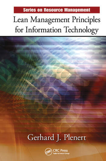 Lean Management Principles for Information Technology book cover