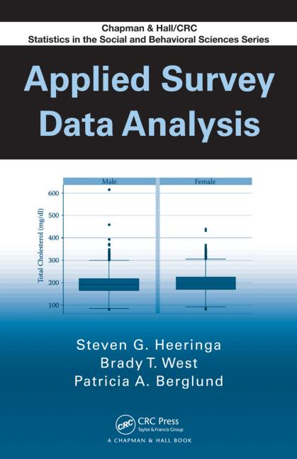 Applied Survey Data Analysis book cover