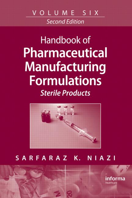 Handbook of Pharmaceutical Manufacturing Formulations Sterile Products book cover