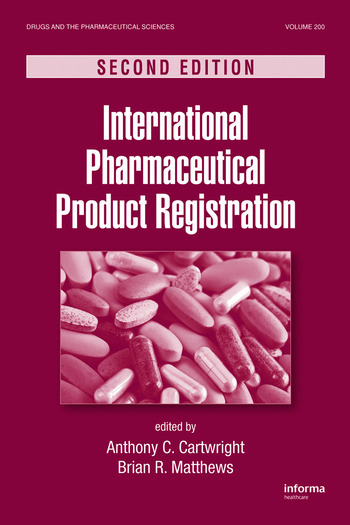 International Pharmaceutical Product Registration book cover