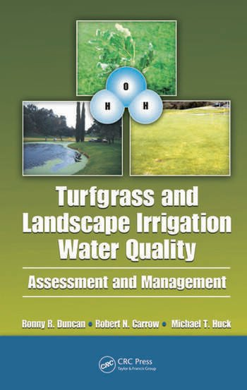 Turfgrass and Landscape Irrigation Water Quality Assessment and Management book cover