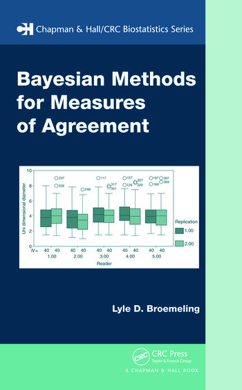 Bayesian Methods for Measures of Agreement book cover