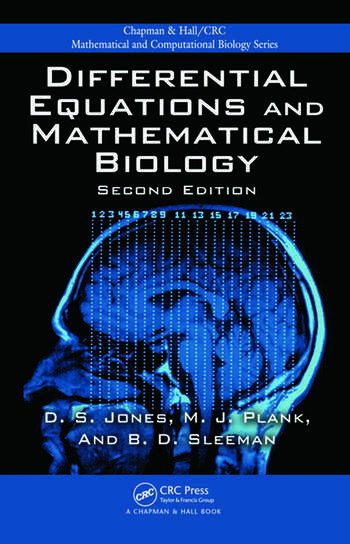 Differential Equations and Mathematical Biology, Second Edition book cover