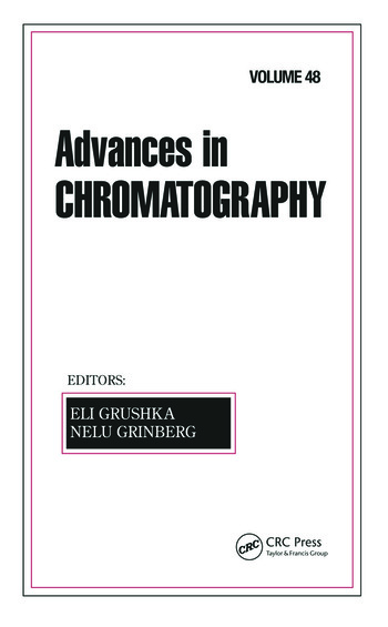 Advances in Chromatography Volume 48 book cover