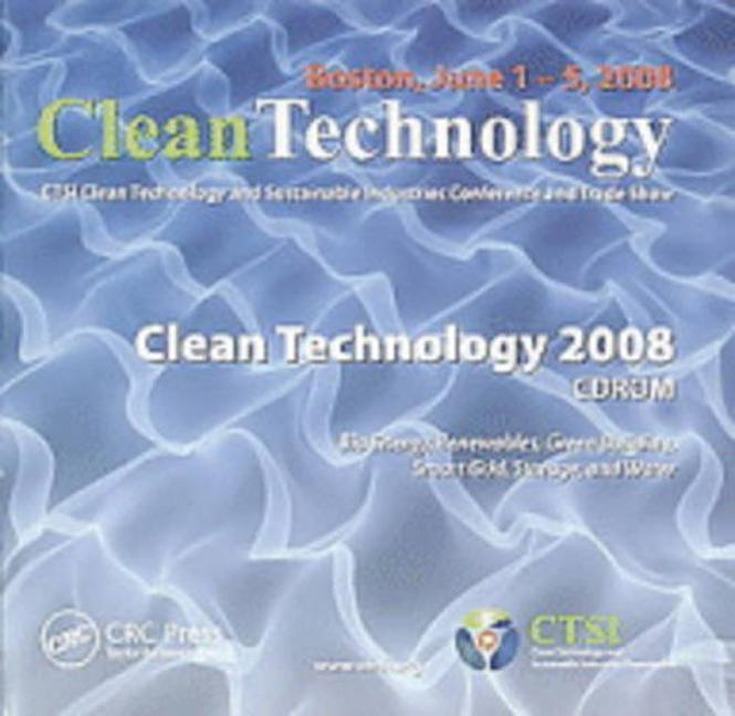 Clean Technology 2008 CD-ROM book cover