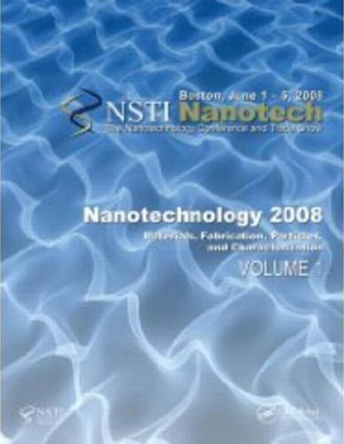 Nanotechnology 2008: CD-ROM book cover