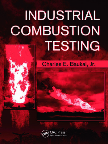 Industrial Combustion Testing book cover