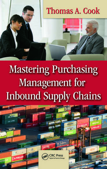 Mastering Purchasing Management for Inbound Supply Chains book cover
