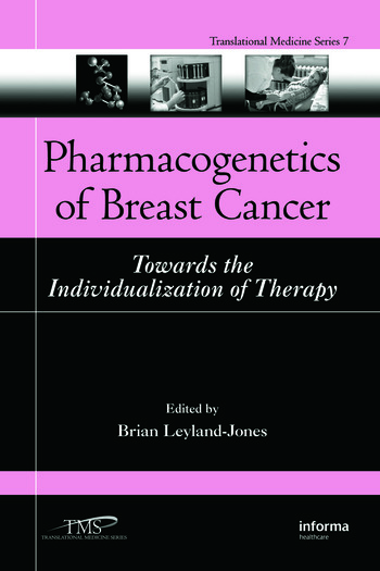 Pharmacogenetics of Breast Cancer Towards the Individualization of Therapy book cover